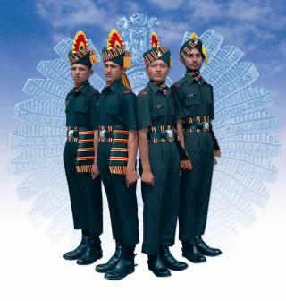 Jammu & Kashmir Rifles Regiment - Modern