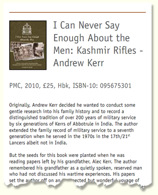 Excerpt from the British Army Review Magazine Issue Number 151